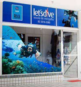 Fachada Lets Dive