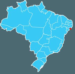 Localização de Maceió