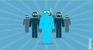 emprego como instrutor de mergulho