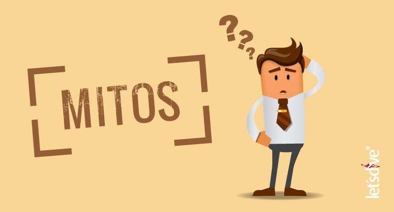 13 Mitos sobre a profissão de Instrutor de Mergulho
