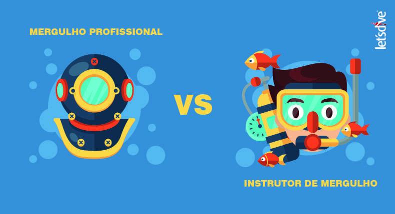 Mergulho Profissional vs Recreativo