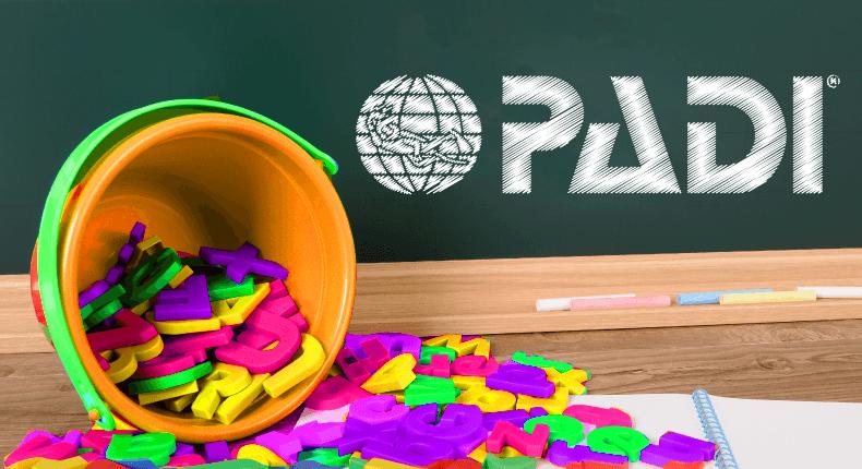 Entenda a sopa de letrinhas da PADI – Parte 2
