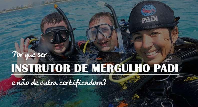 Melhor certificadora de mergulho